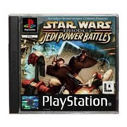 JEU PS1 STAR WARS EPISODE 1: JEDI POWER BATTLES