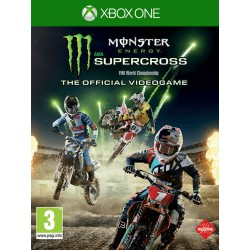 JEU XBOX ONE MONSTER ENERGY SUPERCROSS: THE OFFICIAL VIDEOGAME