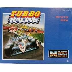 notice jeu nes turbo racing