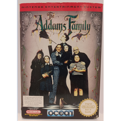 JEU NES THE ADDAMS FAMILY