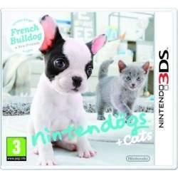JEU 3DS NINTENDOGS ET CATS BOULEDOGUE FRANCAIS (SANS BOITE)