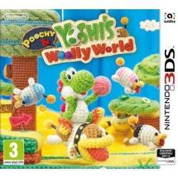 JEU 3DS POOCHY & YOSHI S WOOLY WORLD