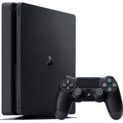 CONSOLE SONY PLAYSTATION 4 SLIM (PS4) - 1TO GRADE B NOIRE