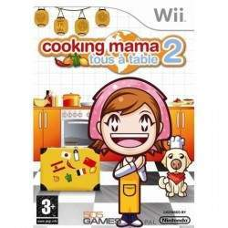 JEU WII COOKING MAMA 2 : TOUS A TABLE !