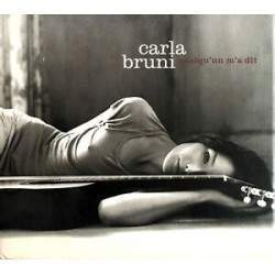 CD AUDIO CARLA BRUNI - QUELQU UN M A DIT