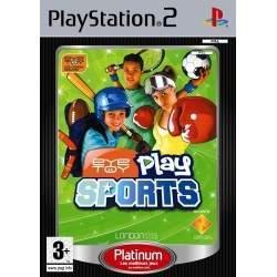 JEU PS2 EYETOY: PLAY SPORTS PLATINUM