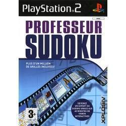 JEU PS2 PROFESSEUR SUDOKU