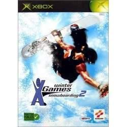 JEU XBOX ESPN WINTER X-GAMES SNOWBOARDING 2