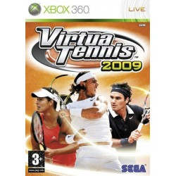 JEU XBOX 360 VIRTUA TENNIS 2009
