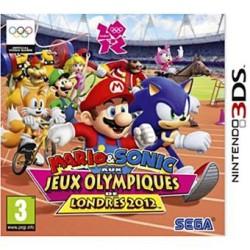 JEU 3DS MARIO & SONIC AUX JEUX OLYMPIQUES DE LONDRES 2012