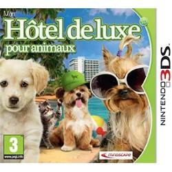JEU 3DS MON HOTEL DE LUXE POUR ANIMAUX 3D