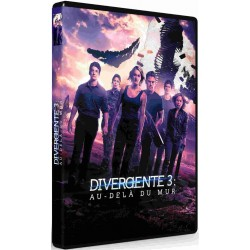 DVD DIVERGENTE 3 AU-DELA DU MUR