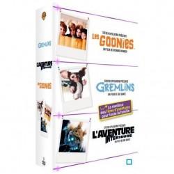 DVD COFFRET LES GOONIES + GREMLINS + L AVENTURE INTERIEURE