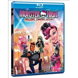 BLU-RAY MONSTER HIGH-FRISSON, CAMERA, ACTION