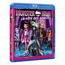BLU-RAY MONSTER HIGH FETE DES GOULES