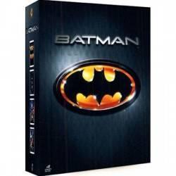DVD COFFRET BATMAN - 4 FILMS COLLECTION 1989-1997