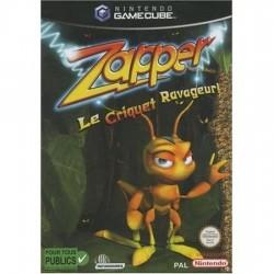 JEU GAME CUBE ZAPPER LE CRIQUET RAVAGEUR