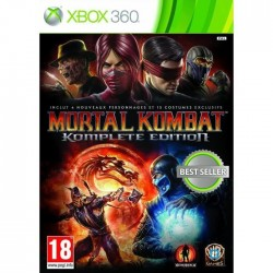 JEU XBOX 360 MORTAL KOMBAT GAME OF THE YEAR EDITION (PASS ONLINE)