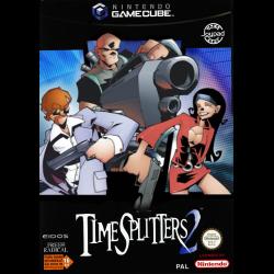 JEU GAME CUBE TIMESPLITTERS 2 SANS NOTICE