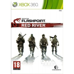 JEU XBOX 360 OPERATION FLASHPOINT : RED RIVER