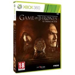 JEU XBOX 360 GAME OF THRONES : LE TRONE DE FER