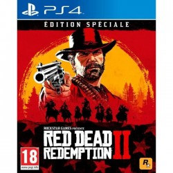 JEU PS4 RED DEAD REDEMPTION 2 EDITION SPECIALE