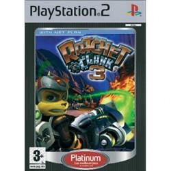 JEU PS2 RATCHET & CLANK 3 EDITION PLATINUM