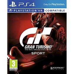JEU PS4 GRAN TURISMO SPORT