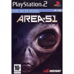 JEU PS2 AREA 51