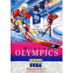 JEU MASTER SYSTEM WINTER OLYMPICS COMPLET