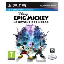 JEU PS3 EPIC MICKEY : LE RETOUR DES HEROS