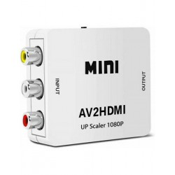 AV VERS HDMI: CONVERTISSEUR HDMI POUR SNES, MEGADRIVE, WII, GAME CUBE,...