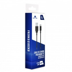 CABLE USB DE RECHARGE MANETTE 3M PS3