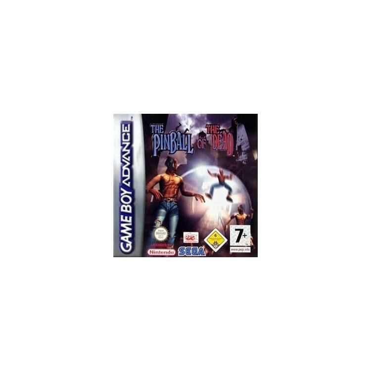 JEU GBA THE PINBALL OF THE DEAD SANS BOITE AGB-APDP-EUR