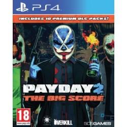 JEU PS4 PAYDAY 2: CRIMEWAVE EDITION - THE BIG SCORE