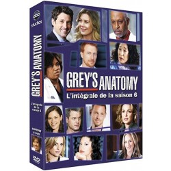 DVD COFFRET GREY S ANATOMY, SAISON 6