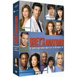 DVD COFFRET GREY S ANATOMY, SAISON 3