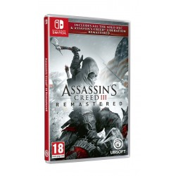 JEU SWITCH ASSASSIN S CREED III REMASTERED