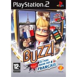 JEU PS2 BUZZ : LE PLUS MALIN DES FRANCAIS + BUZZER