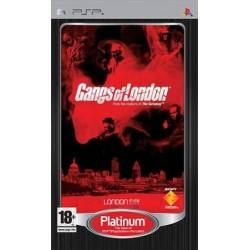 JEU PSP GANGS OF LONDON PLATINUM