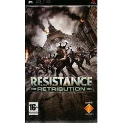 JEU PSP RESISTANCE RETRIBUTION