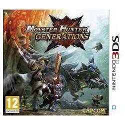 JEU 3DS MONSTER HUNTER GENERATIONS