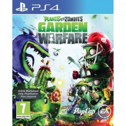 JEU PS4 PLANTS VS ZOMBIES : GARDEN WARFARE