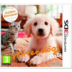 jeu nintendo 3ds nintendogs cats goldent