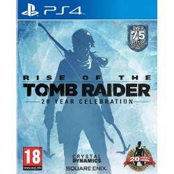 JEU PS4 RISE OF THE TOMB RAIDER