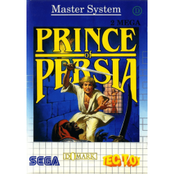 JEU MASTER SYSTEM PRINCE OF PERSIA COMPLET