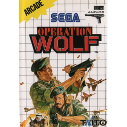 JEU MASTER SYSTEM OPERATION WOLF COMPLET
