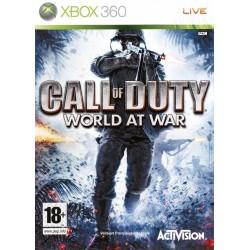 JEU XBOX 360 CALL OF DUTY : WORLD AT WAR