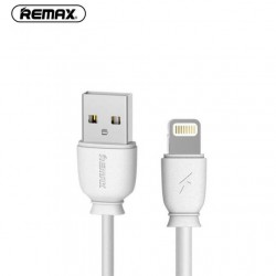CABLE REMAX LIGHTNING RC 134I 1 M BLANC