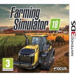 JEU 3DS FARMING SIMULATOR 18 SANS BOITE
